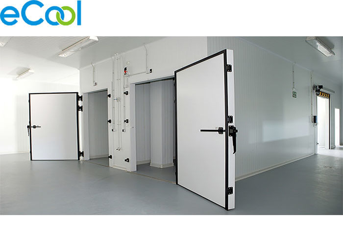 Insulated PUR Panel Cold Room Storage Warehouse -18C ~ -20C For Plastic Packed Frozen Food